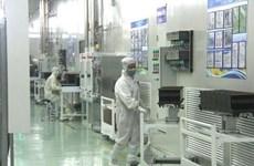 Inauguration d'une usine de panneaux solaires à Bac Giang