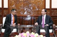 Le président Trân Dai Quang reçoit le directeur général du groupe indien TATA