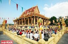 Le Festival Kathina célébré dans une pagode khmère à Hanoi