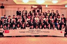 Echange des ambassadeurs adolescents Japon-Vietnam