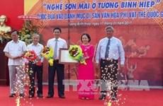 Binh Duong : l'artisanat de la laque est reconnu en tant que patrimoine immatériel national