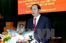 Le président travaille avec la 7ème zone militaire et la police de Hô Chi Minh-Ville