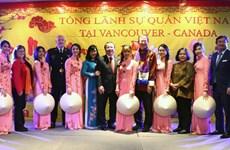 Les Vietnamiens à l'étranger fêtent le Têt traditionnel du Coq