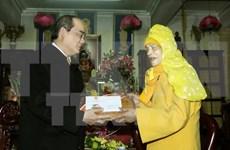 Voeux du Têt à l'Eglise bouddhique du Vietnam