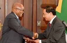 Le Vietnam réaffirme ses liens avec la République d'Afrique du Sud