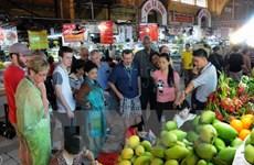 Ho Chi Minh-Ville attire un grand nombre de touristes étrangers durant le Têt