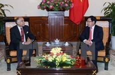 Le vice-Premier ministre Pham Binh Minh reçoit l'ambassadeur de l'Inde au Vietnam