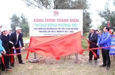 Le vice-PM Truong Hoa Binh à la Fête de la plantation d'arbres 2017
