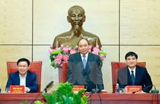 Le PM Nguyên Xuân Phuc exhorte Nghê An de faire de Vinh une ville moderne