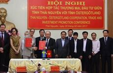 Les entreprises suédoises souhaitent investir à Thai Nguyen