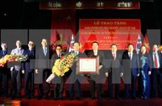 Ordre de l'Amitié au gouverneur de la province sud-coréenne de Gyeongsangbuk-do