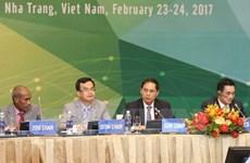 Clôture de la conférence des vice-ministres des Finances de l'APEC