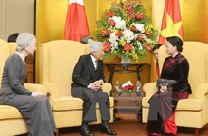 La présidente de l'AN souhaite une amitié plus étroite avec le Japon