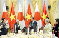 Banquet d'État en l'honneur de l'empereur japonais Akihito et l'impératrice Michiko