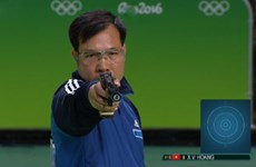 Hoang Xuan Vinh remporte la médaille d'argent à la Coupe du monde de tir 2017