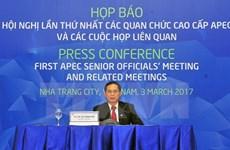 APEC 2017 : Clôture de la SOM 1 avec plusieurs résultats importants