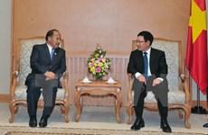 Coopération renforcée entre le Vietnam et le Népal