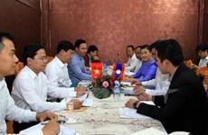 Coopération renforcée entre les jeunes du Vietnam et du Laos