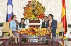Ho Chi Minh-Ville souhaite intensifier la coopération avec les localités laotiennes