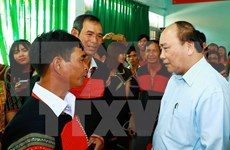 Le PM incite une commune de Dak Lak à vaincre la pauvreté