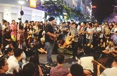 La très attendue rue saïgonnaise de la musique