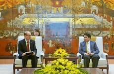 Hanoï s'engage à faciliter les activités des entreprises et organisations sud-coréennes