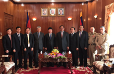 Resserrement de la coopération entre les forces de Police Vietnam-Cambodge