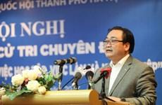 À l'écoute des jeunes électeurs de Hanoi