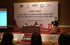 APEC 2017 : activités abondantes des entreprises