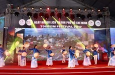 Ouverture de la 13e Fête du tourisme de Hô Chi Minh-Ville 2017