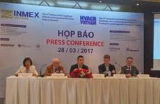 Plus de 300 entreprises à l'exposition sur l'industrie maritime (INMEX)