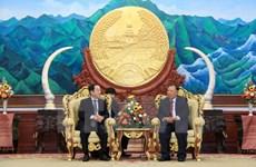 Le leader du PRPL plaide pour les relations spéciales Vietnam-Laos
