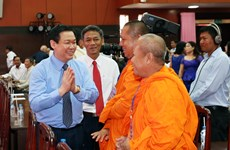 Rencontre à l'occasion de la fête Chol Chnam Thmay