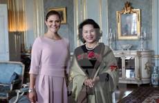 La présidente de l'AN Nguyen Thi Kim Ngan poursuit ses activités en Suède
