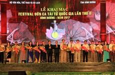 2ème Festival national du Don ca tai tu à Binh Duong