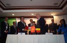 La Belgique soutient la désalinisation des champs du delta du Mékong
