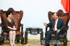 Le Premier ministre Nguyen Xuan Phuc reçoit la directrice générale de l'OMS