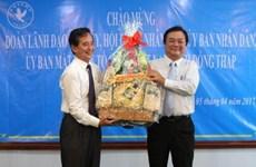 Une délégation de la province de Dông Thap en visite au Cambodge