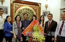 Pâques: félicitations aux  catholiques et protestants de Ho Chi Minh-Ville