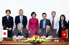 La VNA intensifie la coopération avec l'Agence de presse Kyodo