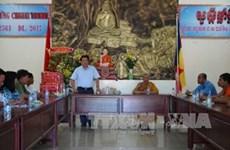 Chol Chnam Thmay : le comité de pilotage du Nam Bô occidental formule ses voeux à Tra Vinh