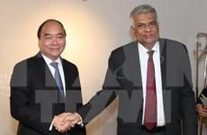 Intensification des relations avec le Sri Lanka