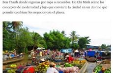 La beauté vietnamienne aux yeux d'un Argentin