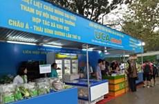 Première foire des produits agricoles et artisanaux des coopératives vietnamiennes