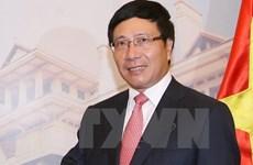 Activités du vice-PM et ministre des AE Pham Binh Minh aux États-Unis
