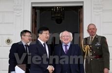 Le vice-PM Trinh Dinh Dung suggère à l'Irlande d'encourager l'UE à signer l'ALE avec le Vietnam