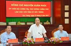 Le PM appelle Soc Trang à étendre la production rizicole et fruitière
