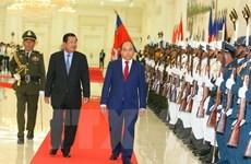 Entretien Nguyen Xuan Phuc-Samdech Techo Hun Sen