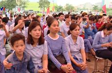 Lancement du Mois des ouvriers à Hanoi