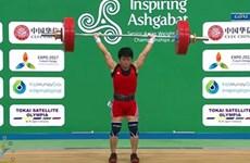 Le Vietnam gagne une médaille d'or aux Championnats d'Asie d'haltérophilie 2017